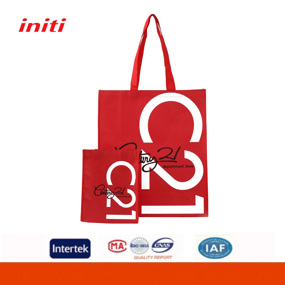 Widely-used Excellent quality Promotional Cute Nonwoven Metallic Tote Bag