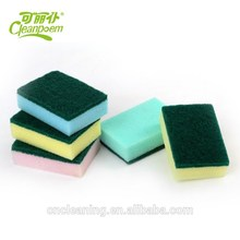 Hot sale factory direct price cellulose kitchen foam sponge scouring pad