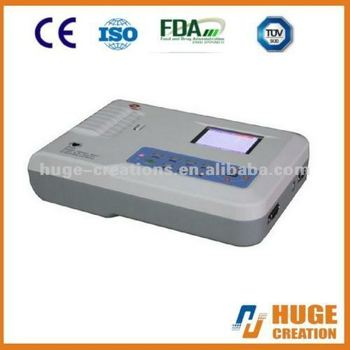 Hot Sale CMS300G Digital 3 Channel ECG Machine with CE Approved