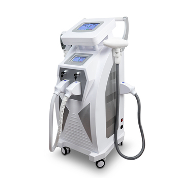 Hottest!!! E-light ipl rf+nd yag laser /SHR remove hair permanently multifunctional beauty machine