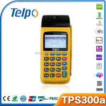 2015 TPS300 EFT Handheld GSM Bank POS System with Dual SIM and SAM