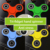New product anti stress fidget alloy metal hand spinner finger toy