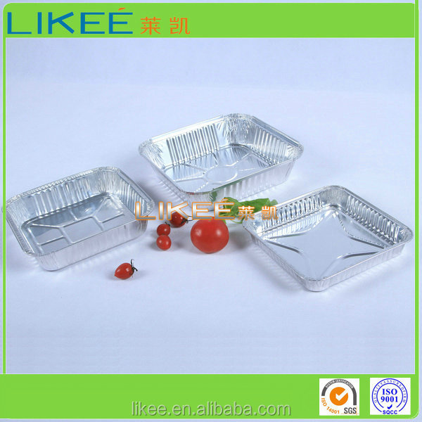 Food Use and Aluminium Foil Material Containers for Cake Baking