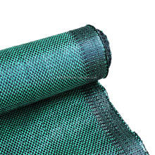 black and green color woven landscape fabric woven polypropylene fabric in roll silt fence