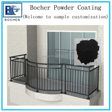 Outdoor usage powder coating paint