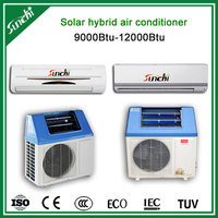 The most efficiency 100% solar powered air conditioner