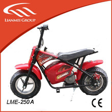 "250w mini electric motorcycle with 6.5"" tire from China"