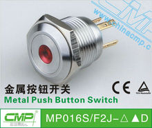 free samples export CMP brand MP016S/H2J--D 16mm 5 pin push button switch UL CE ROHS