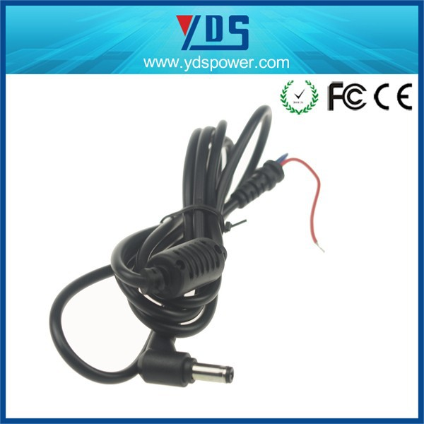 2014 calendar flat electrical power extension cord 5.5 *2.1mm for laptop ,led light ,cctv ,lcd