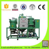 Durable in use engine waste compressor oil recondition plant