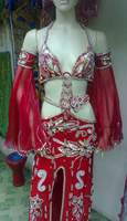 Sexy Professional Hand Made Belly Dance Costume