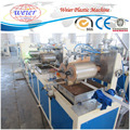Plastic sheet extrusion machine for making MDF and particle board PVC edge banding