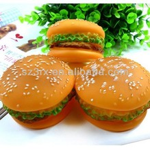 PET TOY Sandwich SQUEEZE burger puppy al dente DOG SQUEAKY TOY 51