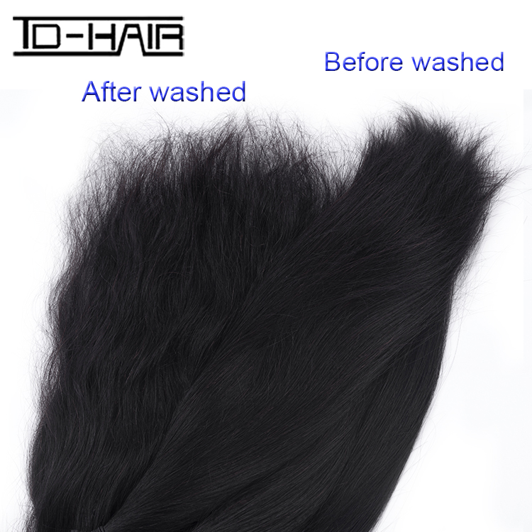 Indian Virgin Hair Extension Can Be Dyed Free Shipping, Silky straight African Human Hair Extensions