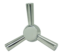 Zinc alloy 3 Spoke Safe Handles for Gun Safe JN713