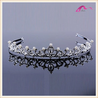 Luxury Bridal Crystal Crowns Princess Tiara Headband Wedding Hair Accessory