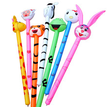 Hot sell pvc inflatable animal stick for Event