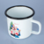 best selling products Tableware Drinkware Coffee Camping Custom Sublimation Coated Enamel Mug 350ml for China Gold Supplier