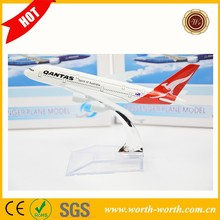 Promotion items Australia Air line A380 QANTAS Air Scale model aircraft, airline aircraft for Best selling
