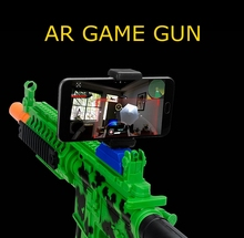 2017 New Arrival High Quality Shooting Game Toys Player Bluetooth AR Gun