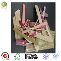 disposable beauty set birch wooden manicure nail care materials