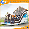 PVC good quality inflatable dry slide o.55mmPVC inflatable castle slide for sale