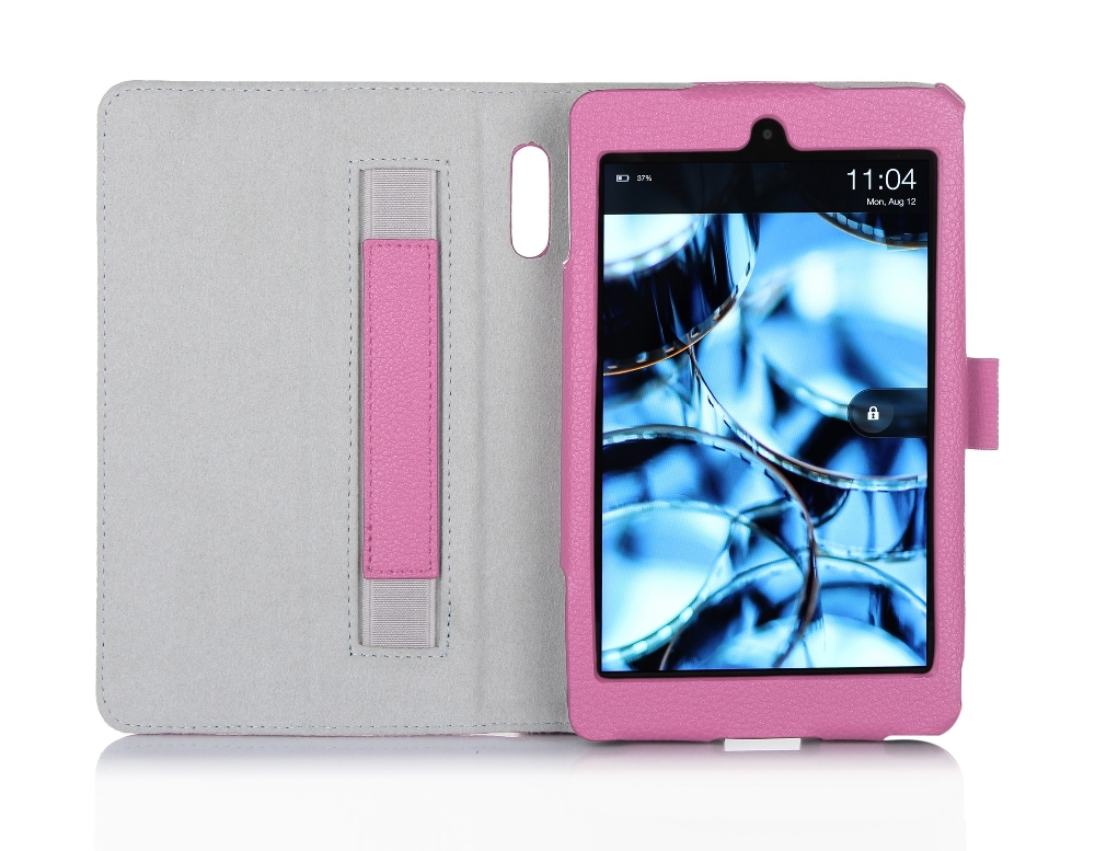 Wholesale Factory Price Foldable Shockproof Cover Beauty PU Tablet Case With Hand Strap For Kindle Fire HD 6
