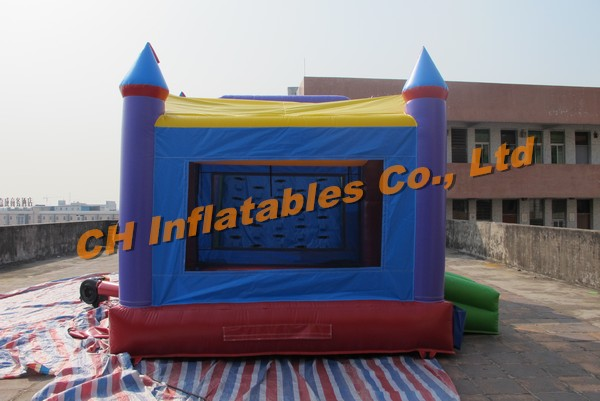 Hot Sell Inflatable Water Slide With Climbing, colourful inflatable slide, slide game