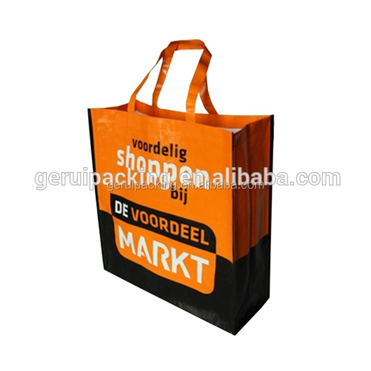 Promotion High Quality Reusable pp woven Shopping Bag