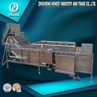 High speed food cleaning machinery industrial bottle washer
