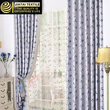 window coverings for sale oem Polyester jacquard modern bedroom curtains