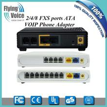 1/2/4/8/16/32/48 FXS voip analog telephone adapter with T.38 fax,openvpn G502