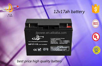 Good Price rechargeable deep cycle battries 12v 17ah battery for ups and solar system