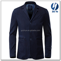 in stock items latest fashion mens denim blazer