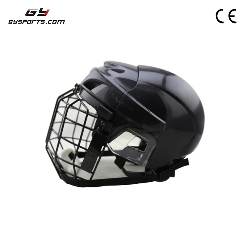 GY SPORTS CE Certificated Safety Pp Shell Ice Hockey Goalie Helmet