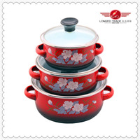 2014 good looking apple cookware pot high quality