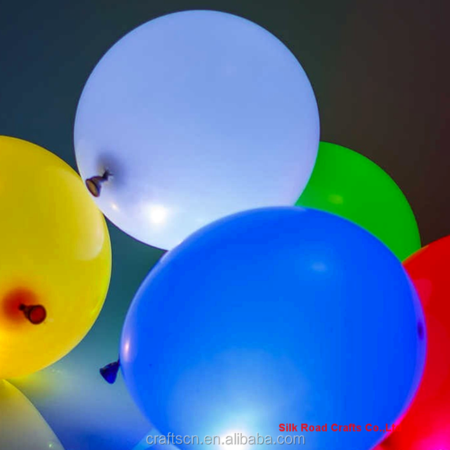 biodegradable helium led balloon with low price