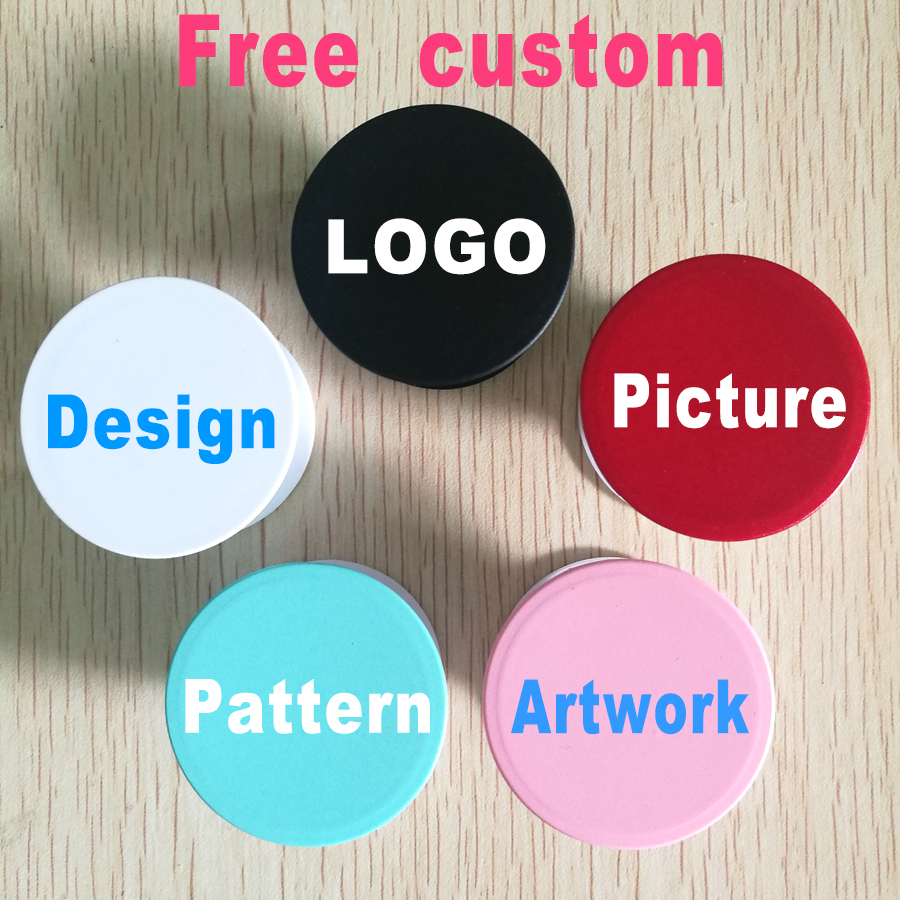 Pop wholesale mobile phone holder sockets grip various designs for free custom logo