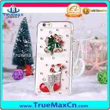 Top Quality Cell Phone Case for iPhone 5 5C 5S, for iPhone 5 5C 5S Transparent PC Post Diamonds Case