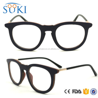 Half Round metal wood skateboard reading grain glasses