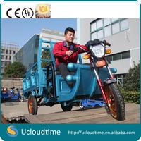 CE China high quality cargo tricycle/three wheel motorcycle scooter with 1000W motor