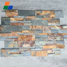 Z Shape natural cultured stone exterior wall house decorative stone