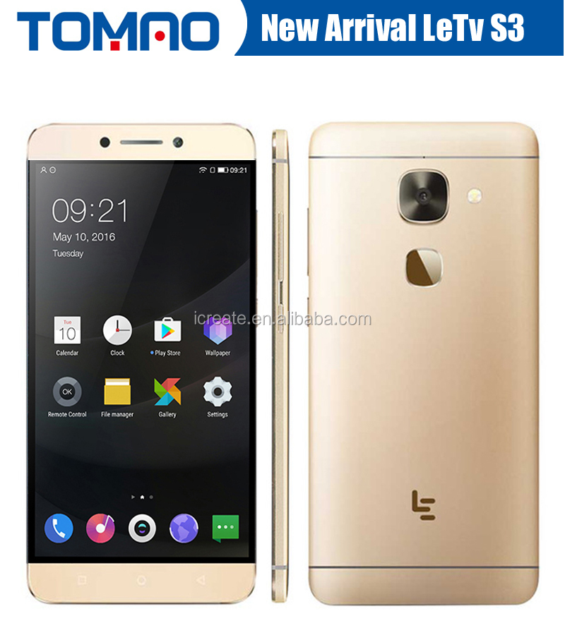 "Original Letv LeEco Le S3 X622 4G LTE Smart Phone Deca Core Android 6.0 5.5"" FHD 1920X1080 3GB RAM 32GB ROM 16.0MP Fingrprint"