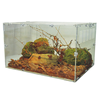 Custom Transparent Acrylic reptile cage for pet Reptiles
