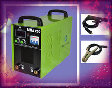 stable 250amp arc welder to welded square steel tube