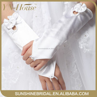 The most fashionable and graceful Fingerless wedding gloves for flower girls