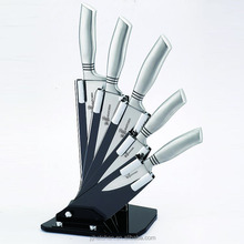 BH46 hollow handle stainless steel kitchen knife set