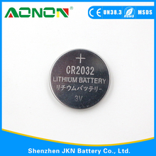 Good quality CR2032 button cell battery with 3V for hot sale