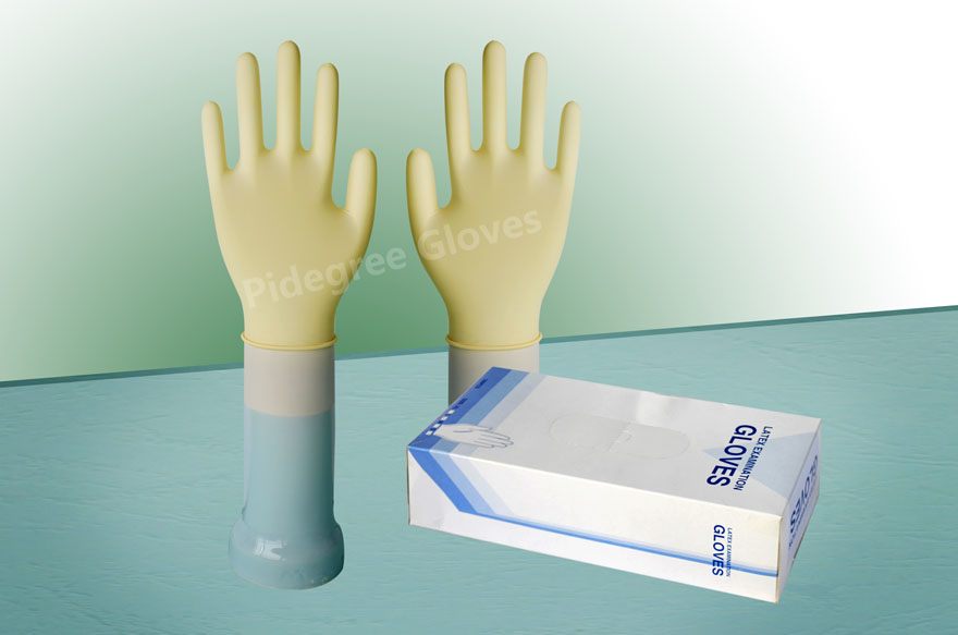 Super Quality Powder Free Examination Latex Gloves