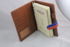 New Simple Make To Order Pu Notebook Leather Portfolio